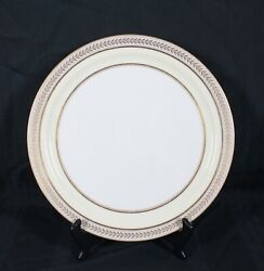 Rare Discontinued Lenox China F358a Pattern Chop Plate / Platter 12 1/2 Round