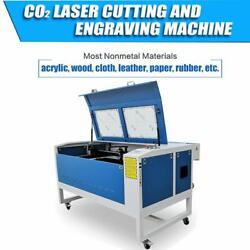 Motorized Z Re100w Co2 Laser Cutting And Engraving Machine 39'' X 24'' Ce Fda