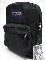 JANSPORT SUPERBREAK BLACK BACKPACK MSRP $40 BRAND NEW w TAGS $26.99