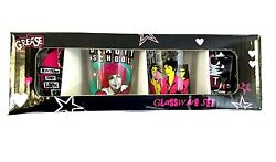 Pink Lady Grease The Movie Set Of 4 Collectible Shot Glasses New In Box