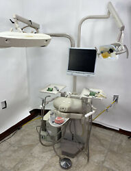 Dental School Training Simulator By A-dec Model 4820 Adec With Computer And More