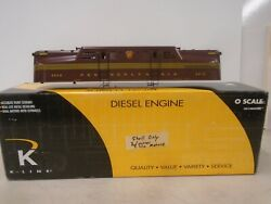 K-line O Scale K2780-4912ic Pennsylvania Gg-1 Shell Only In Original Box
