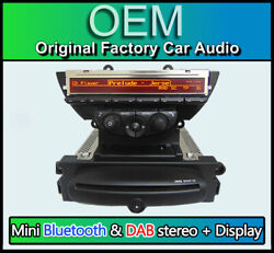 Mini Cooper Cd Player Dab Radio Bluetooth Usb Aux R56 Boost Stereo With Display