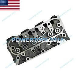 New D1005 Complete Cylinder Head Assy For Kubota Bx2660 Bx2670 Bx2680 Zd326
