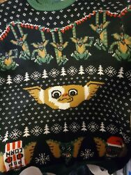Middle Of Beyond Gremlins Christmas Sweater 2xl