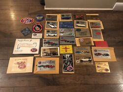 Rare Chrysler Desoto Car Product Owners Club Plaques Patches Sign Dodge Plymouth