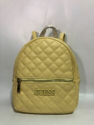 Elliana Quilted Backpack Women Yellow One Size Bag NWT Free Shipping VG730232 $45.99