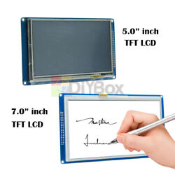 5.0/7.0inch 800x480 Tft Lcd Display Touch Panel Sd Card Module Ssd1963 Arduino
