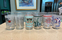 Kentucky Derby Glass 2004, 2005,2006, And 2008 New Lot Of 12 Varieties