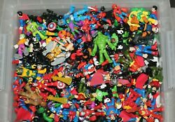 Imaginext Playskool Super Hero Blind 4 fig Grab Bag Batman Spiderman Iron Man