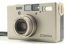 [mint] Contax T3 Titan Silver 35mm Point And Shoot Film Camera From Japan