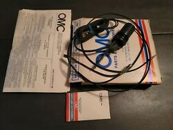 New Omc Outboard Marine Corp Boat Idle Stop Switch Kit Part No. 398744