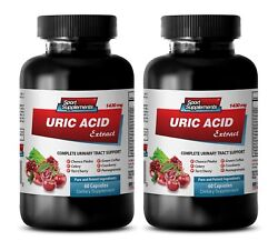 Kidney Support - Uric Acid Formula 1430mg 2b - Concentrated Cranberry