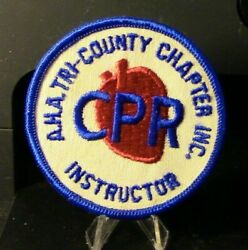 Instructor A.h.a. Tri-county Chapter Inc. Cpr Patch