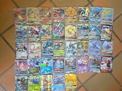 Pokemon Card Lot 37 Official Tcg Cards Ultra Rare Included   Gx Ex Or Mega Ex