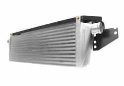 Perrin Front-mount Intercooler Kit For 15-17 Wrx - Silver Core Black Piping