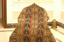 Antique Museum Quality Hand-knotted Isfahann Rug Carpet Pure Wool
