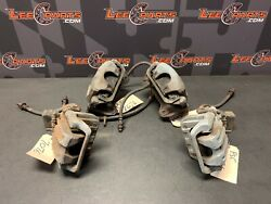 2002 Honda S2000 Ap1 Oem Front Rear Brake Calipers Brakes 32k