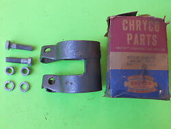 1955-1956 Plymouth And 1953-1955 Dodge 8 Cyl Nos Muffler Clamp Mopar Oem 1450618