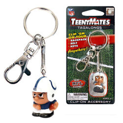 Nfl Teenymates Tagalong Key Chain With Clip Indianapolis Colts