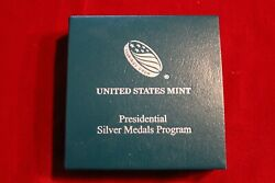 United States Mint Presidential Silver Medals Packaging, No Coin, Quincy Adams