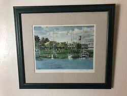 Charlevoix Day By Kathleen Chaney Fritz Limited Edition A.p. Print Signed