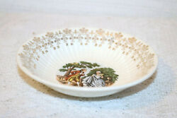 Royal China Minuet 22k Gold Colonial Couple People 5 1/2 Berry Bowls Set Of 3