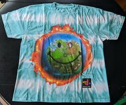 Travis Scott X Fortnite World Tie Dye Cactus Jack Shirt Size Large Dswt Sold Out