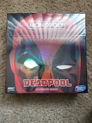 Monopoly Deadpool Collectorand039s Edition Game Hasbro New Board Game