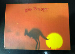 1989 Royal Australia Mint Proof Set Coin Fair Issue Mintage Only 5000