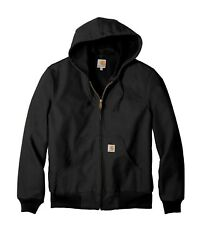 Menand039s Thermal-lined Duck Hood Active Jacket 4xlarge Black Free Ship