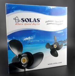 Solas New Saturn Propeller For Yamaha And Tohatsu Outboard 3431-130-19 3x13x19