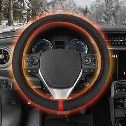 Hand Warmer Heated Steering Wheel Cover Motor Trend - Tangle-free Standard Fit