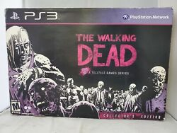 Ps3 The Walking Dead Collectorand039s Edition Book And Game Ships Free