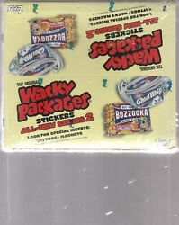 2005 Original Wacky Packages Series 2, Sealed Box 24 Packs 6 Stickers Per Pack