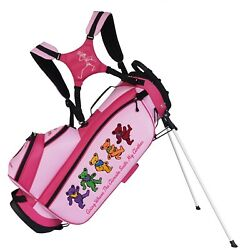 Grateful Dead Custom Golf Stand Bag - Personalized With Your Name Logo Colors