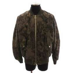 Louis Vuitton Animal Bomber Jacket Cotton Silk Brown Chapman Brothers Menand039s 52