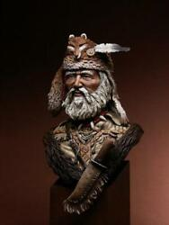 Old Trapper American Colonist Painted Toy Soldier Bust Pre-sale   Museum