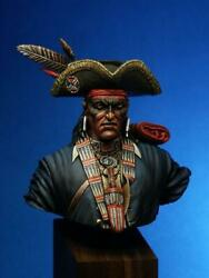 Great Lake Tribe Warrior Native American Painted Toy Bust Pre-sale | Museum