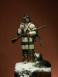 Moose Hunter Native American Painted Toy Soldier Pre-sale   Museum