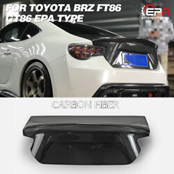 For Subaru Brz Toyota Ft86/gt86 Epa-style Carbon Rear Trunk Bootlid Boot Lid