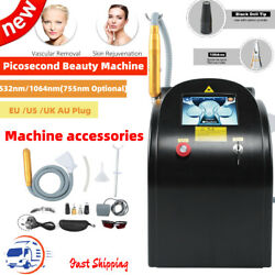 Picosecond Laser Tattoo Pigment Spot Removal Beauty Skin Whitening Machine
