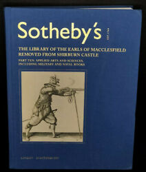 Sothebyand039s Part 10 Auction Catalog Rare Books From Library Of Shirburn Castle