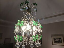 Antique French chandelier beautiful shape