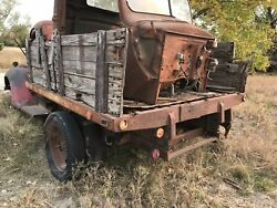 1940's Ford Truck Stake Bed - Free Shipping