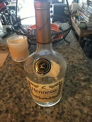 Hennessy Vs Cognac Empty And Cleaned Bottle 750 Ml