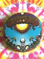 Grateful Dead Productions 1983 Aoxomoxoa Pin Button Rick Griffin 1969 Poster Art