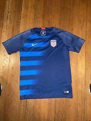 Nike Us Soccer Jersey Boys Large Youth 2018 World Cup Stitched Blue