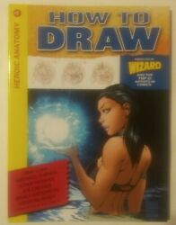 How To Draw Heroic Anatomy1 Nm+ 2009 Wizard Spiral-bound Michael Turner Cover