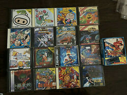 Stunning Collection Of Pc Engine Games Including Sealed Forgotten Worlds Bundle